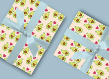 Load image into Gallery viewer, Avocado Gift Wrap - Wrapping Paper - Blush and Blossom Paper