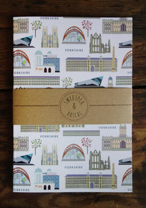 Yorkshire themed Notebook - Sweetpea and Rascal - stationery lovers - Yorkshire gift