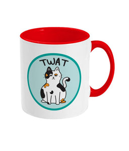 Twat Mug - Cats - Innabox - gift ideas - Cat lovers - cheeky gifts!
