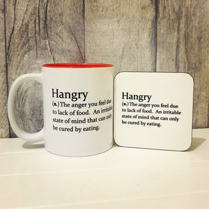 Hangry Mug - Funny Dictionary Definition - The Crafty Little Fox