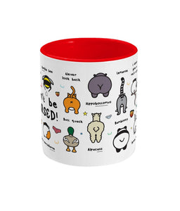 Can't be Arsed Mug - Animal Butts - Innabox - gift ideas - Animal lovers