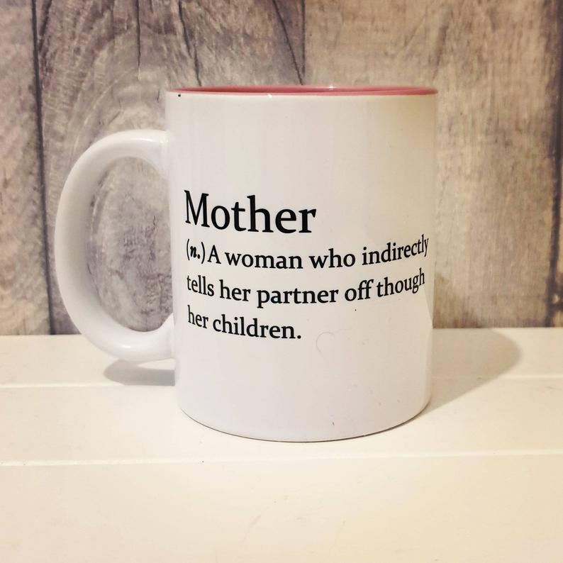 Mother Mug - Funny Dictionary Definition - The Crafty Little Fox