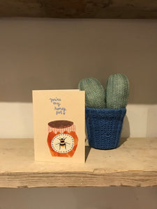 You're my Honey Pot - Greetings Card - Bees - Jenna Lee Alldread