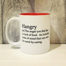 Load image into Gallery viewer, Hangry Mug - Funny Dictionary Definition - The Crafty Little Fox