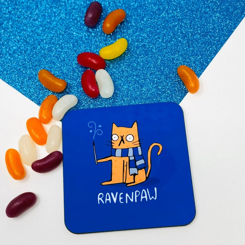 Ravenpaw House coaster - Katie Abey - Magical