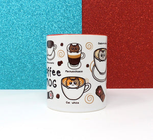 Coffee Mog Mug - Coffee and Cat lovers - Innabox - gift ideas - Animal lovers