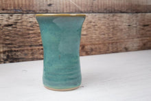 Load image into Gallery viewer, Flower Vase - Ceramic - Thrown in Stone - Sea Mist Green