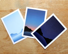 Load image into Gallery viewer, Coastal Sunset A5 print - Or8 Design - choose from 3 designs or all 3!