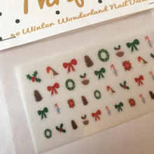 Load image into Gallery viewer, Winter Wonderland Nail Decals - nail stickers - Christmas pampering - Thriftbox