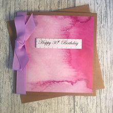 Load image into Gallery viewer, 30th Birthday Card - 30 - Handmade by Natalie