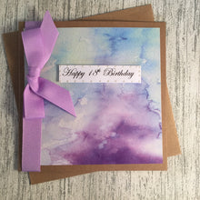 Load image into Gallery viewer, 18th Birthday Card - 18 - Handmade by Natalie