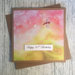30th Birthday Card - 30 - Handmade by Natalie