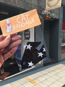 Cat Bandana - Dawny's Sewing Room