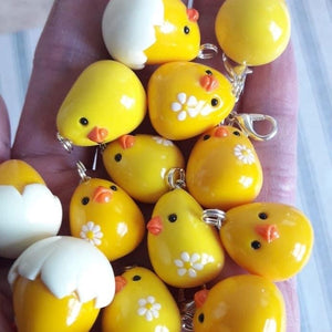Chick Charm - Pins and Noodles