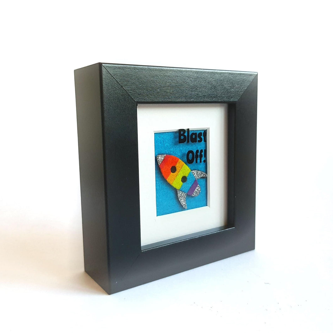 Rainbow Mini Frame - Life Is Better In Colour