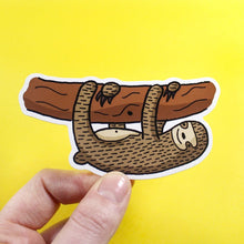 Load image into Gallery viewer, Just Hanging Out Sloth Sticker - Sloths - Bronte Laura Illustration