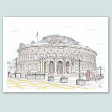 Load image into Gallery viewer, Leeds Corn Exchange Illustration - A4 print - Art by Arjo - Leeds artwork
