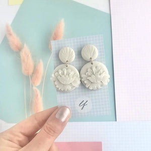 Art Deco style handrolled Earrings - Polymer clay - Various Designs - Laura Fernandez Designs