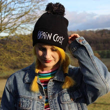 Load image into Gallery viewer, Brain Cosy - Beanie Hat - Bobble Hat - Katie Abey - winter warmers