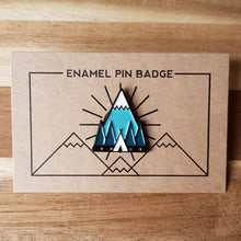 Load image into Gallery viewer, Tent Enamel Pin - Or8 Design - camping, outdoors, adventure