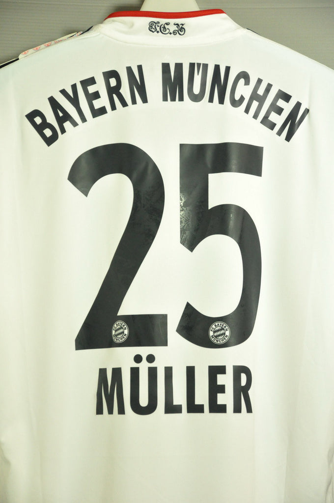 reputable site c21a2 99105 Bayern Munchen Munich Thomas Muller 25 Away Jersey Shirt Bundesliga 2014