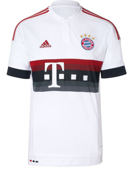 pretty nice f4770 a3ae1 Bayern Munchen Munich Away Jersey Shirt Replica Bundesliga 2015-2016