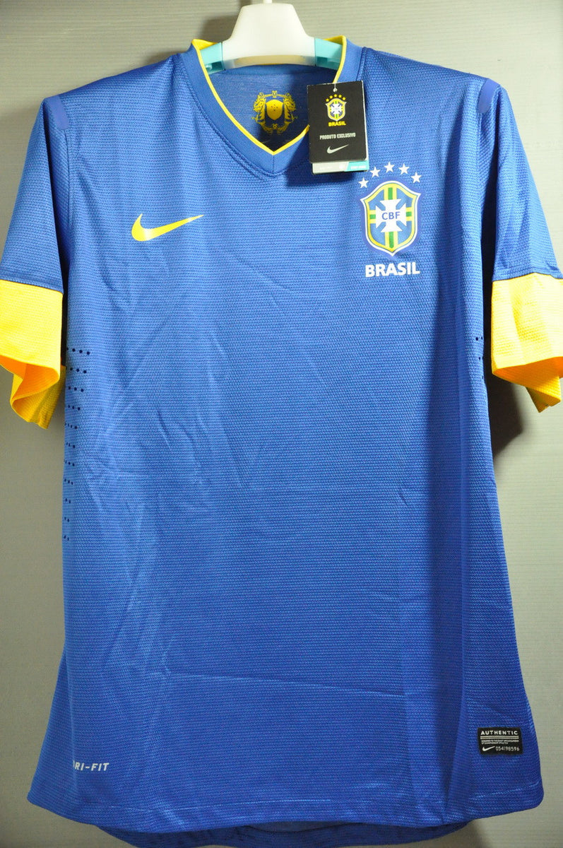 Brazil+Brasil+Player Issue+Authentic+Away+Jersey+Shirt ...