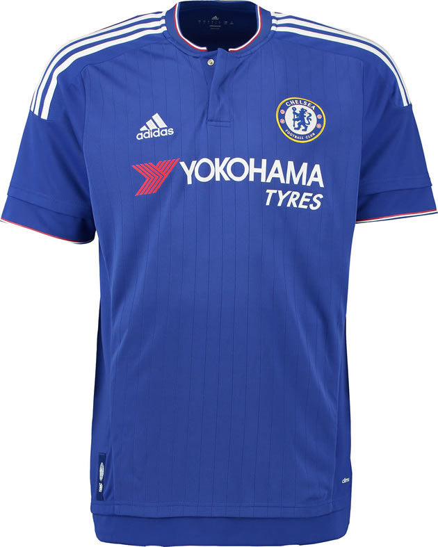 official photos d6ff1 dfc9f Chelsea Soccer Jersey Home Shirt Jersey Kits 2015 2016 Replica EPL English  Premier League Europ Champion