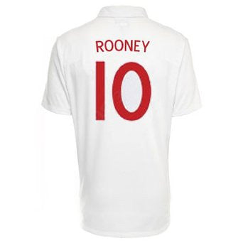 England ROONEY National Football Team Replica Jersey Shirt World Cup 2010 9aae8cacd
