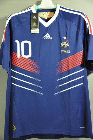 France BENZEMA National Football Team Jersey Shirt World Cup 2010 c12fa13b2