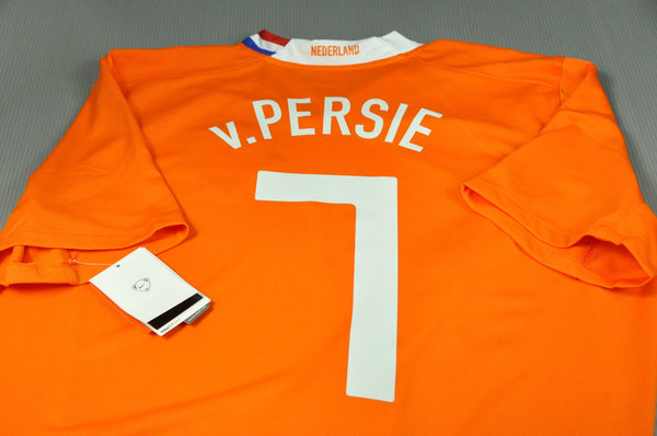 purchase cheap b77e0 92e5f Holland Netherlands Van PERSIE Home Replica Jersey Shirt #7 2008 World Cup  Vintage Collection