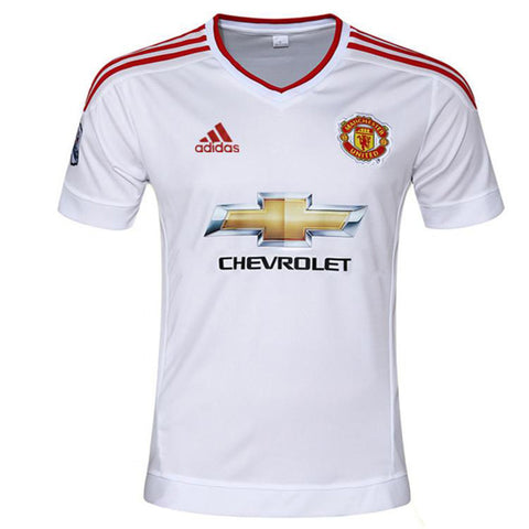 f136727f7 Manchester United Away Jersey 2015-16 EPL BPL English Premier League Euro  Champion League