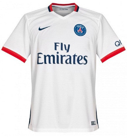 Paris Saint Germain Away Jersey Shirt 2015-2016 France League Ligue 1 4c358f208