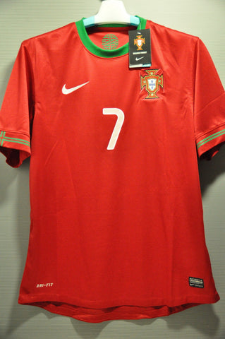 Portugal National Football Team C RONADLO Home Soccer Jersey Shirt European  Cup 2012 World Cup 2014 ab6edda82
