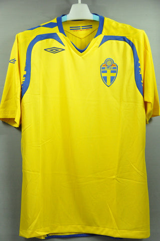 Sweden 2006 National Football Team Jersey Shirt World Cup Euro Champion 68d70d830