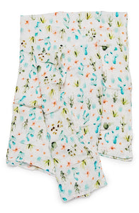 Cactus Floral Swaddle