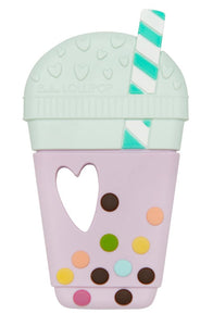 Taro Bubble Tea Silicone Teether
