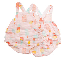 Load image into Gallery viewer, Cool Sweets Ruffled Sunsuit