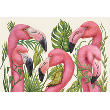 Load image into Gallery viewer, Tropical Flamingo Placemat
