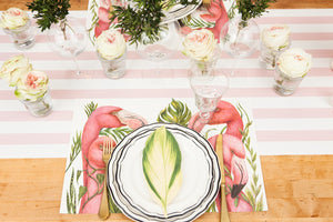 Tropical Flamingo Placemat