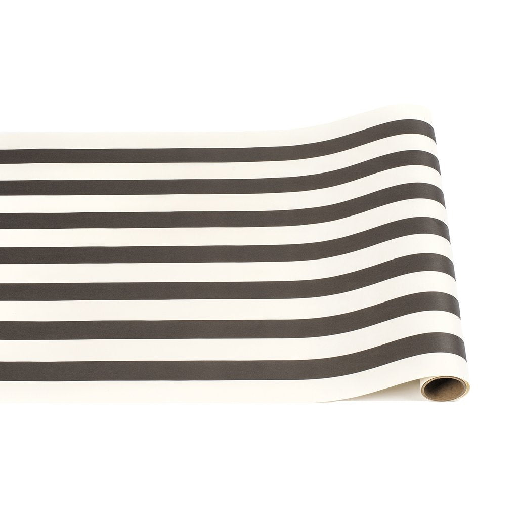 Table Runner Roll- Black and White