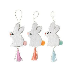 Mini Bunny Piñata- 3 pack