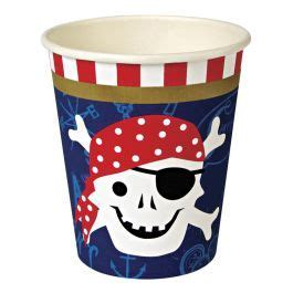 Pirate Party Cups- 12 pack
