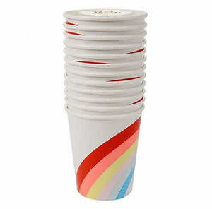 Rainbow Party Cups- 12 pack