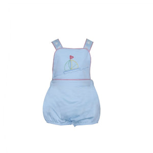 Lullaby Set Sammy Sunsuit- Sailboat
