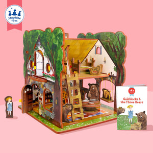 Book + Play Set - Goldilocks and the Three Bears