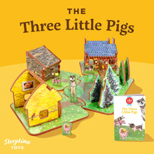 Load image into Gallery viewer, Book + Play Set- The Three Little Pigs