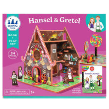 Load image into Gallery viewer, Book + Play Set- Hansel and Gretel