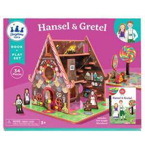 Book + Play Set- Hansel and Gretel