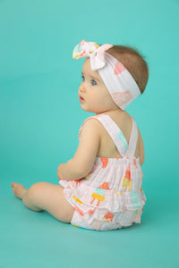 Cool Sweets Ruffled Sunsuit